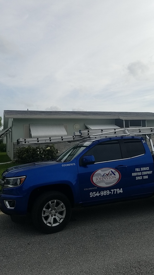 Gaf timberline HDZ shingles roof replacement estimate by Aj from Earl Johnston Roofing Company