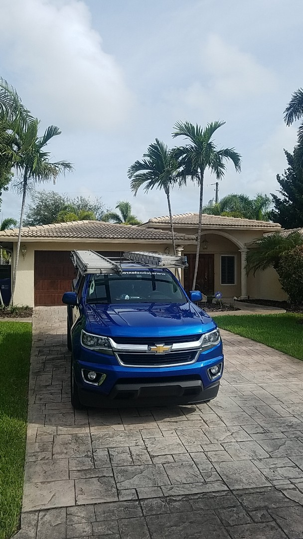 Pompano Beach, FL - Flat roof leak repair estimate by Aj from Earl Johnston Roofing Company