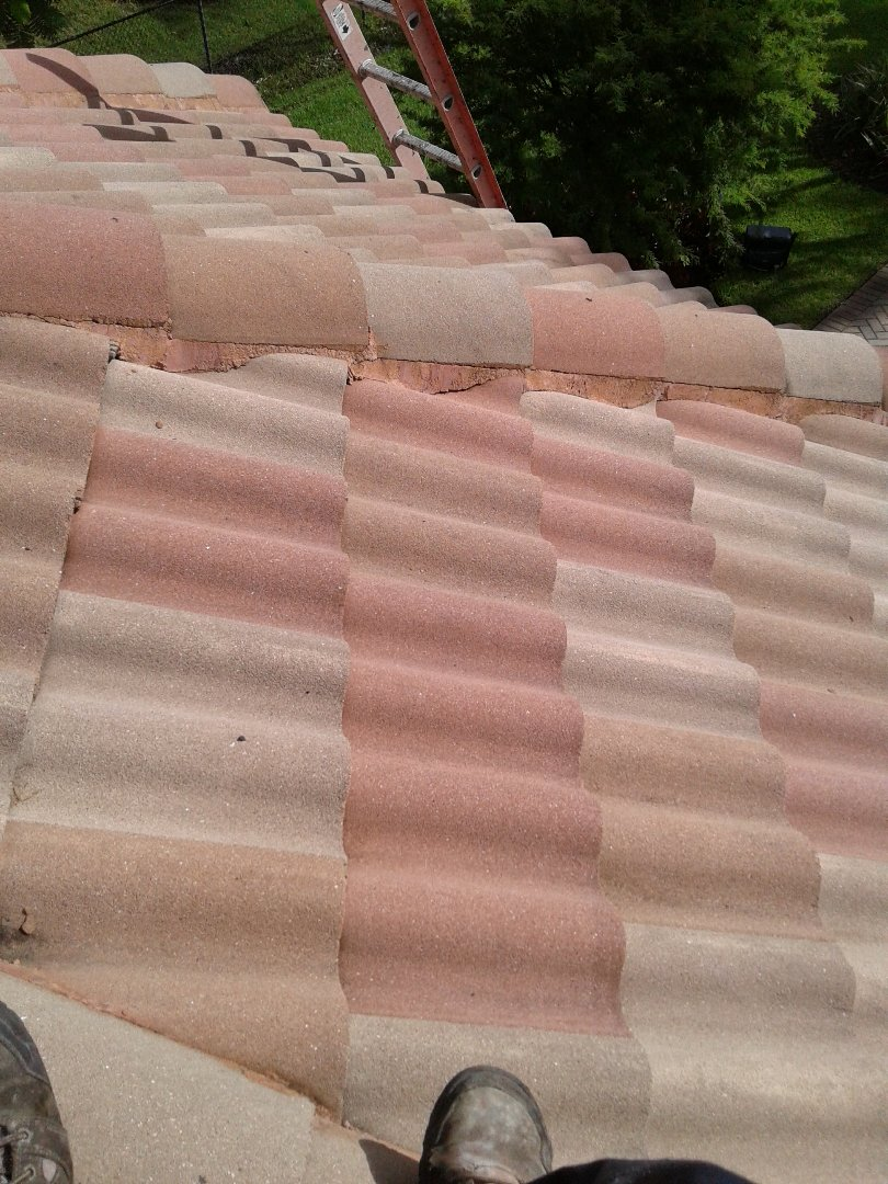 Parkland, FL - Roofing repair in Parkland by Duane and Israel from Earl W.Johnston Roofing