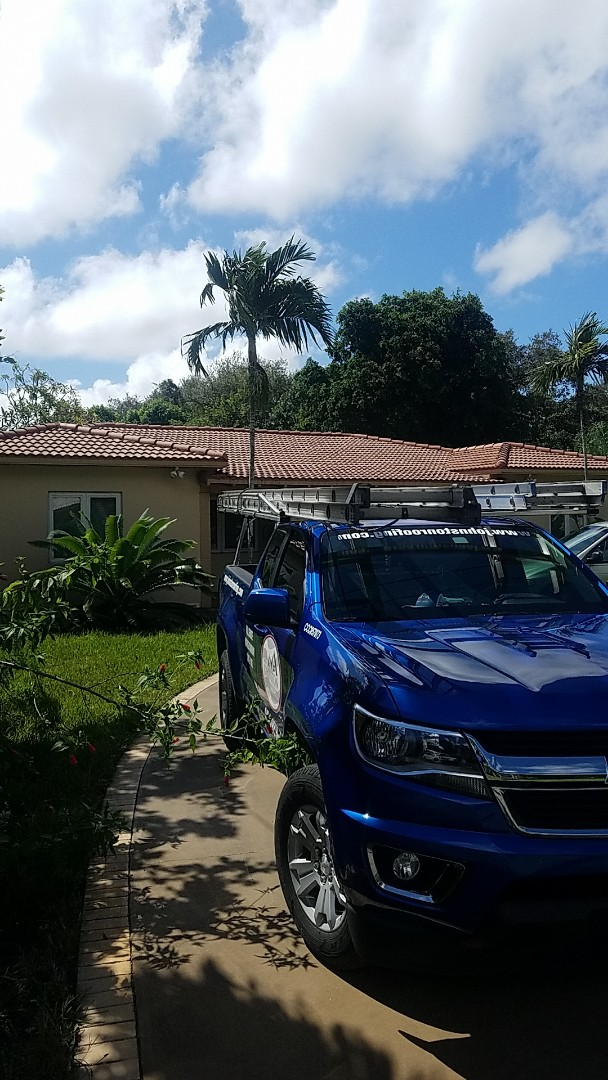 Biscayne Park, FL - Tile roof leak repair estimate by Aj from Earl Johnston Roofing Company