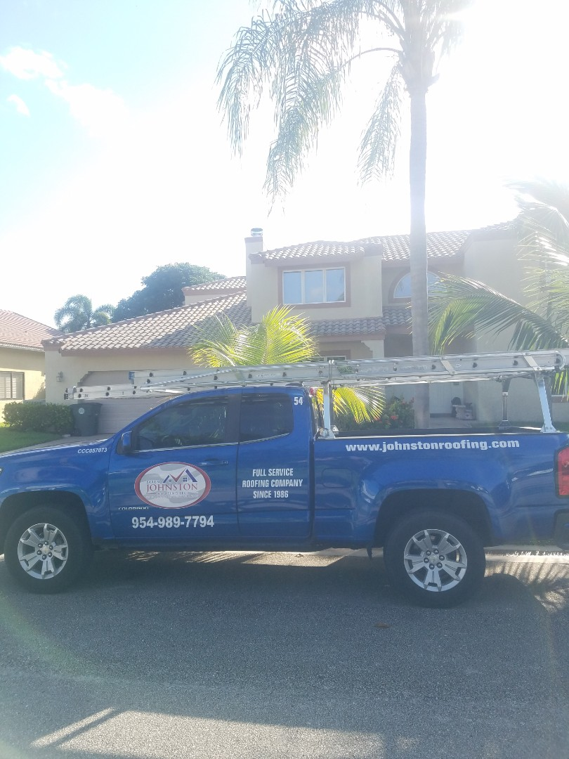 Boca Raton, FL - Tile roof leak repair estimate by Aj from Earl Johnston Roofing Company