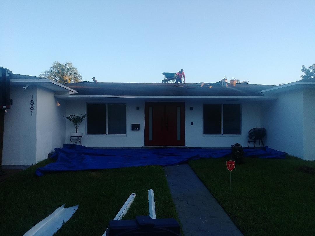 North Miami Beach, FL - Reroof shingle Miami