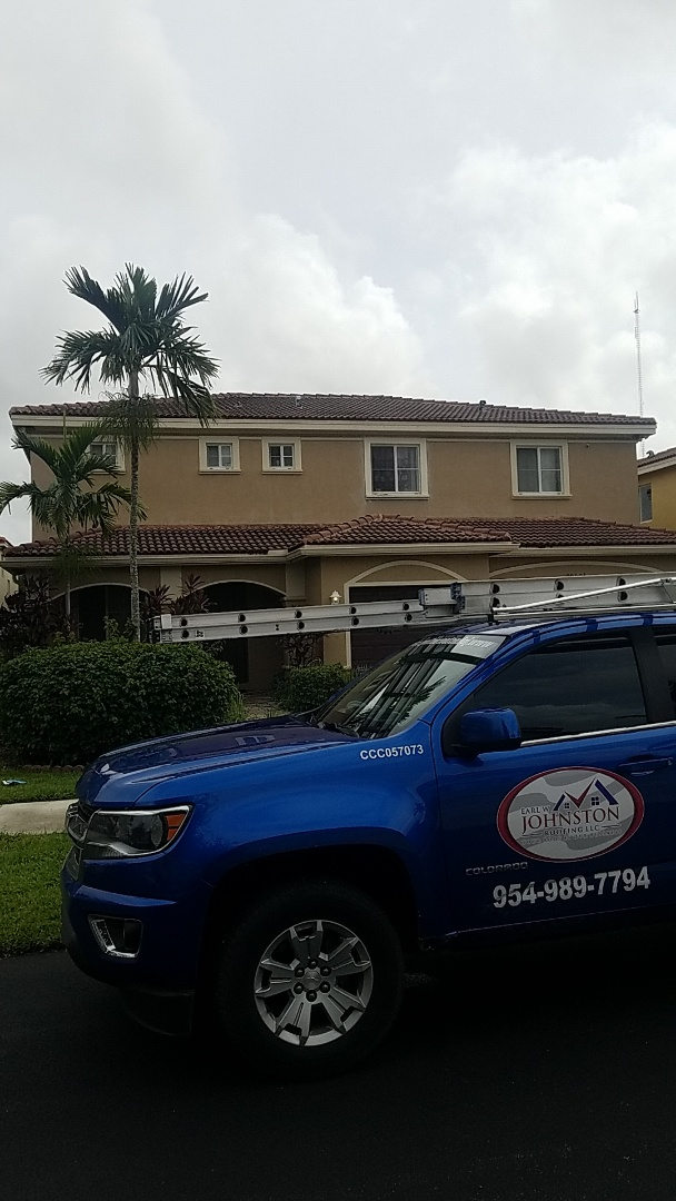 Miami Gardens, FL - Tile roof repair estimate by Aj from Earl Johnston Roofing Company