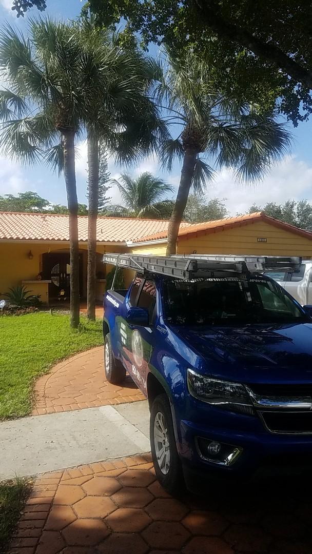 Hialeah, FL - Eagle Malibu tiles reroof estimate by Aj from Earl Johnston Roofing Company