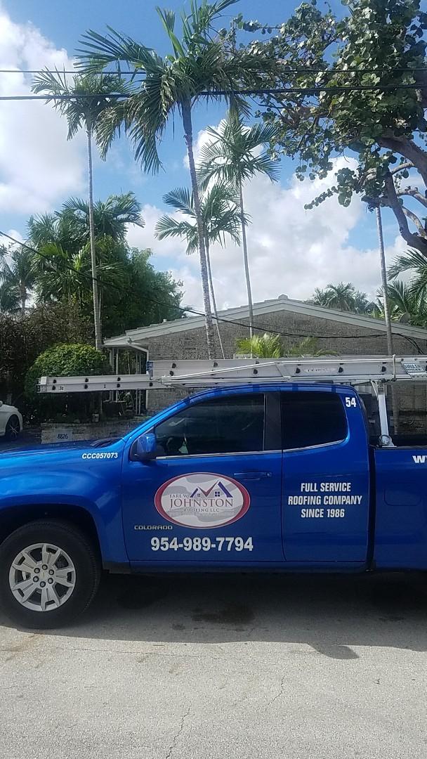 Surfside, FL - Tile roof leak repair estimate by Aj from Earl Johnston Roofing Company