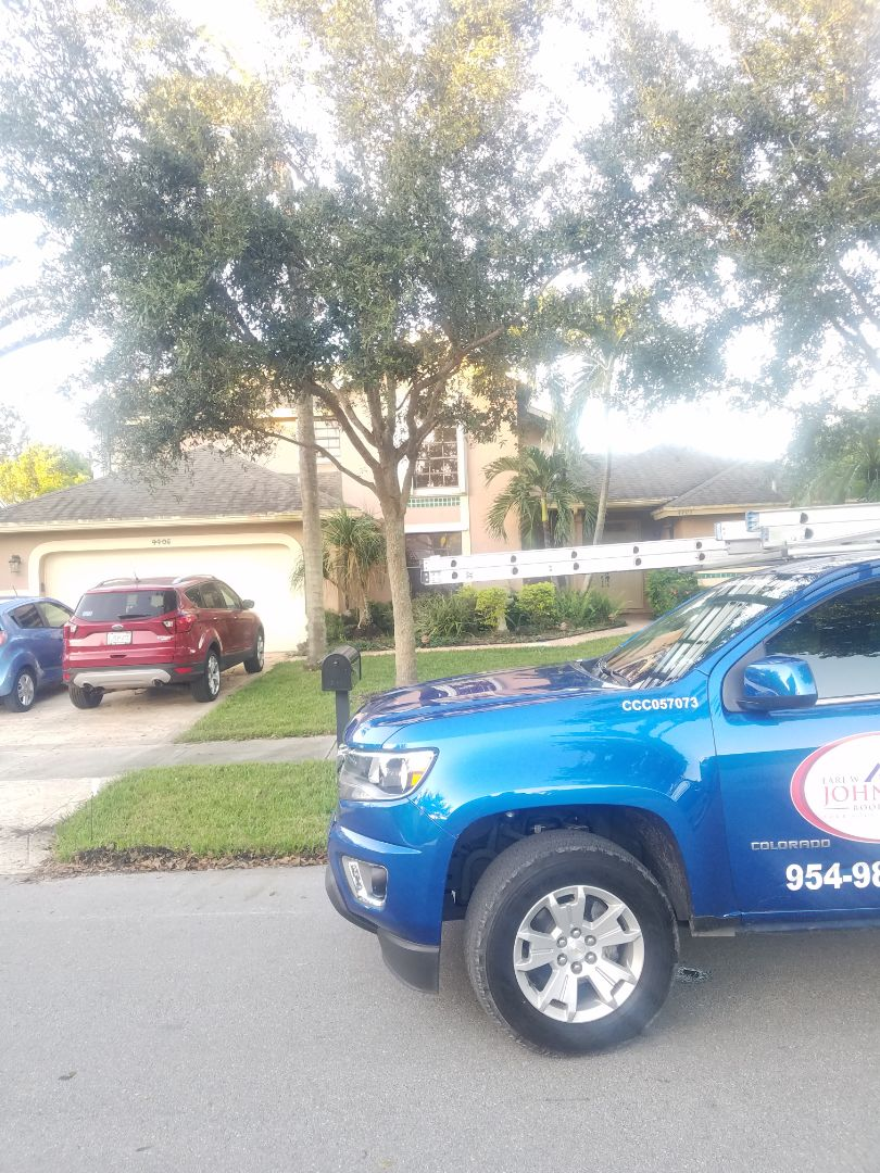 Coconut Creek, FL - Shingle roof leak repair estimate by Aj from Earl Johnston Roofing Company