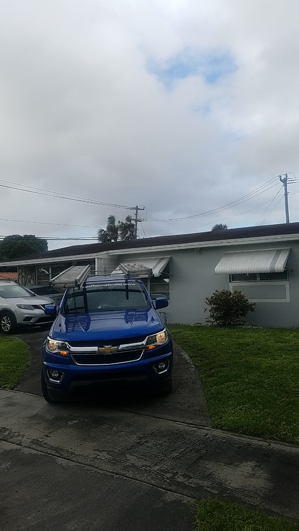 Hialeah, FL - Shingle roof leak repair estimate by Aj from Earl Johnston Roofing Company