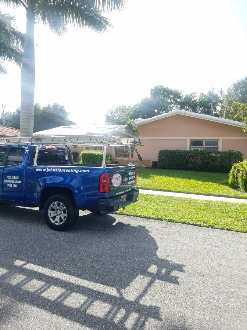 Boca Raton, FL - Gaf timberline HDZ shingles roof replacement estimate by Aj from Earl Johnston Roofing Company