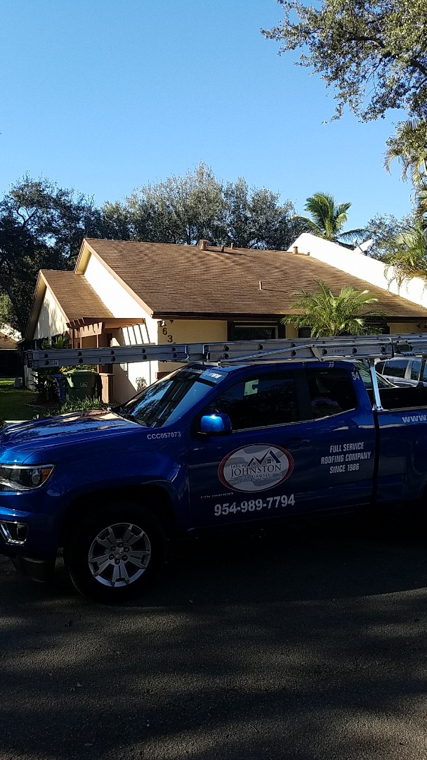 Miami Lakes, FL - Gaf timberline HD shingles golden pledge warranty estimate by Aj from Earl Johnston Roofing Company