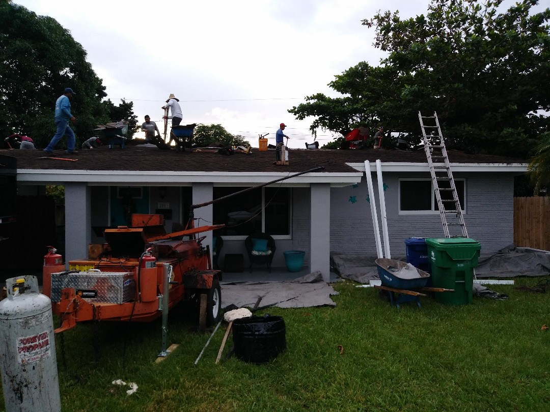 Miramar, FL - Reroof shingle