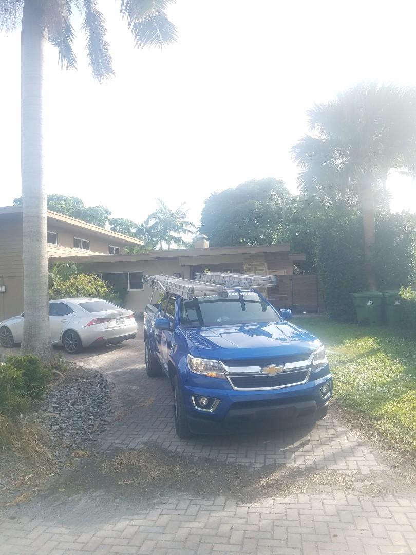 Fort Lauderdale, FL - Flat roof leak repair estimate by Aj from Earl Johnston Roofing Company