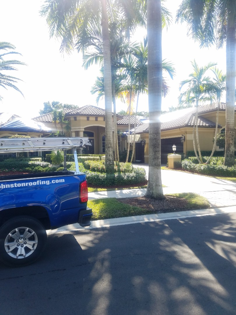 Weston, FL - Eagle capistrano tiles roof replacement estimate by Aj from Earl Johnston Roofing Company