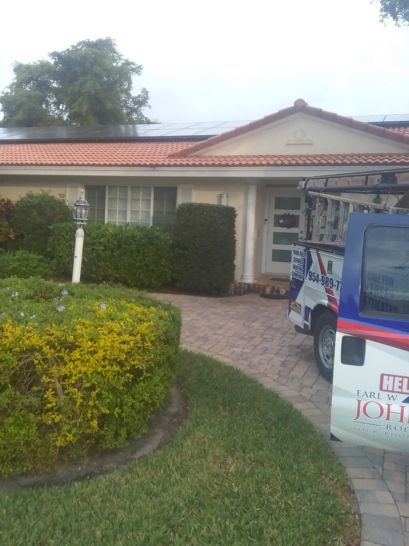 Fort Lauderdale, FL - Repair tiles roof by Alexis and Oliver from early w Johnson roofing