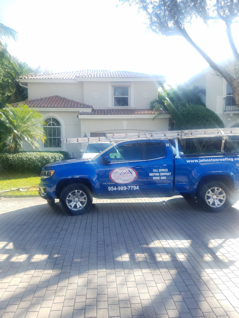 Davie, FL - Clay Tile roof replacement estimate by Aj from Earl Johnston Roofing Company