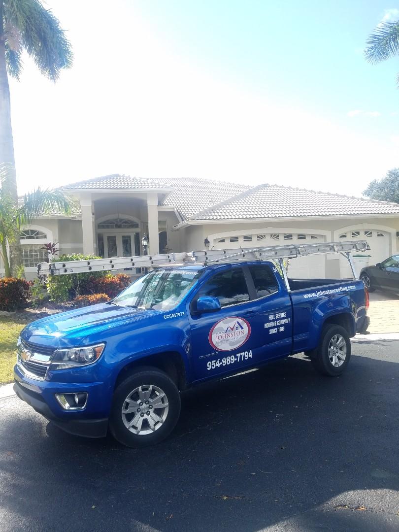 Parkland, FL - Eagle Malibu tiles reroof estimate by Aj from Earl Johnston Roofing Company