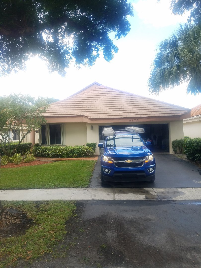 Plantation, FL - Tile roof repair estimate by Aj from Earl Johnston Roofing Company