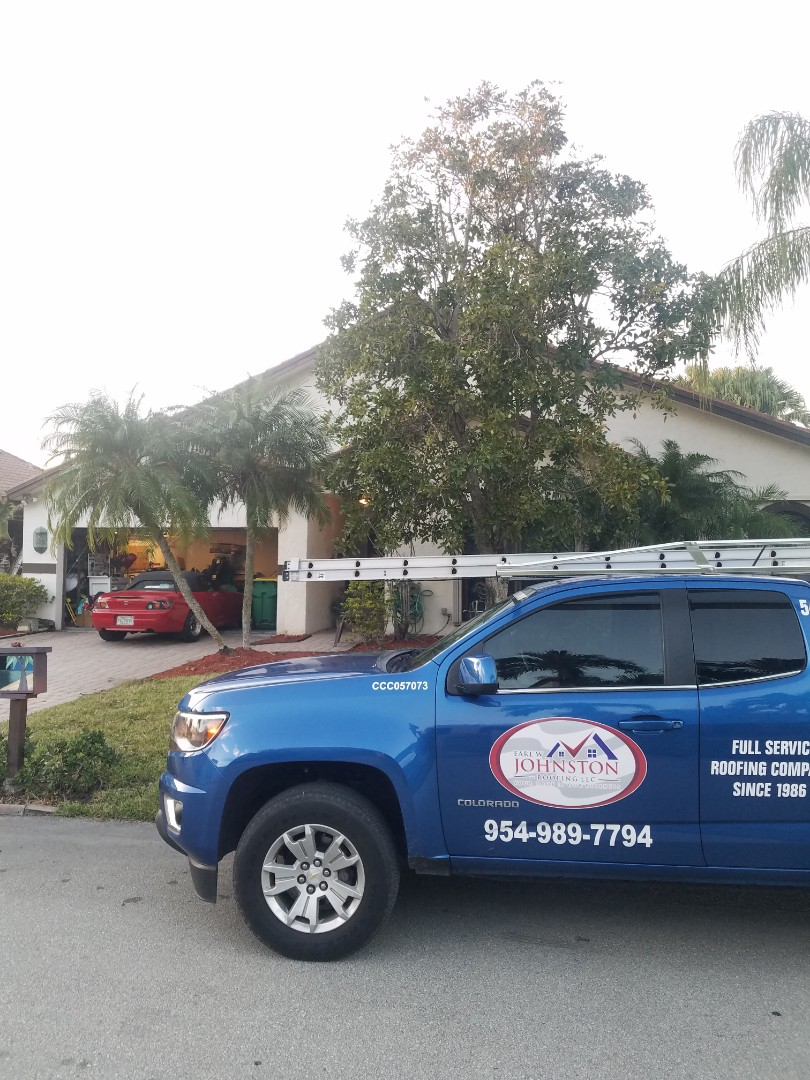 Tamarac, FL - Tile roof leak repair estimate by Aj from Earl Johnston Roofing Company
