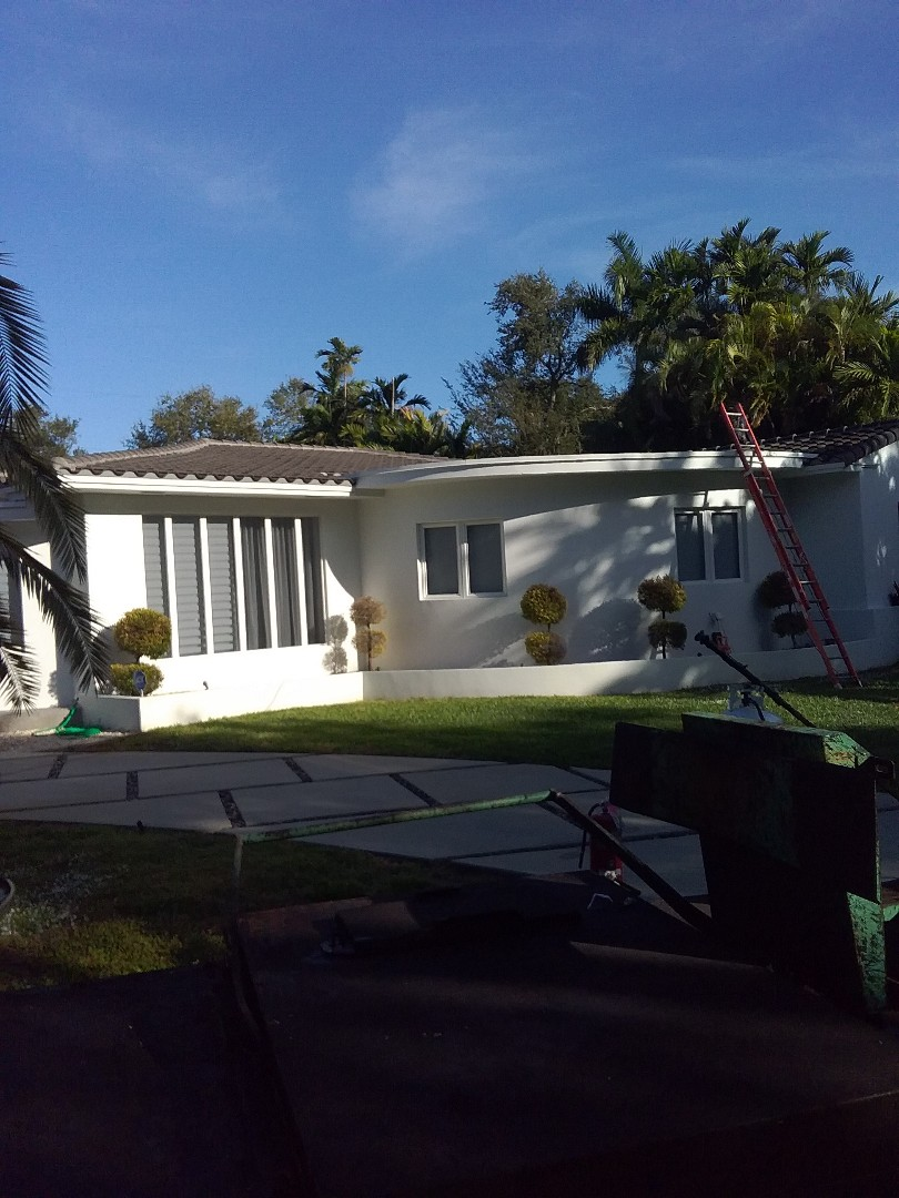 Fort Lauderdale, FL - Repair flat roof by Alexis, Oliver and darnell from early w Johnson roofing