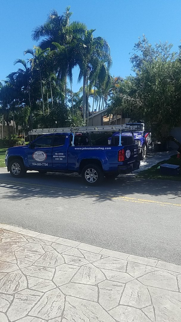 Hollywood, FL - Gaf timberline HDZ shingles roof replacement tearoff by Earl Johnston Roofing Company