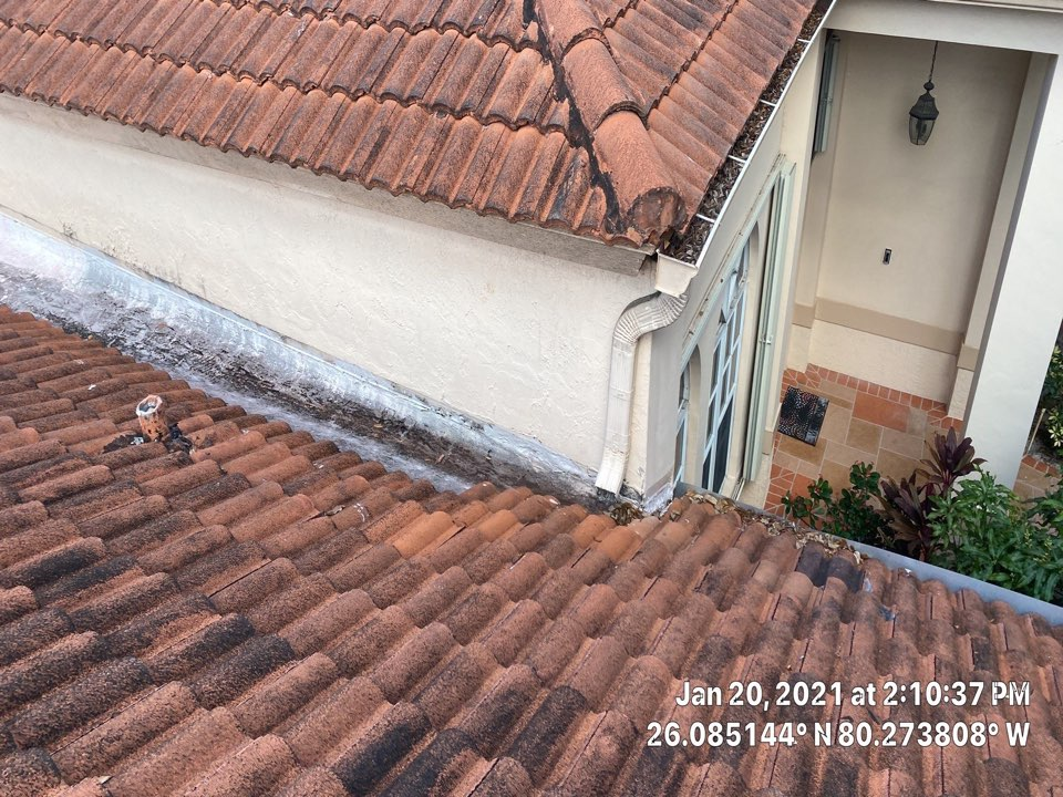 Davie, FL - Eagle Capistrano tile and flat reroof estimate in Davie, FL by Mike Wilde and Earl Johnston Roofing
