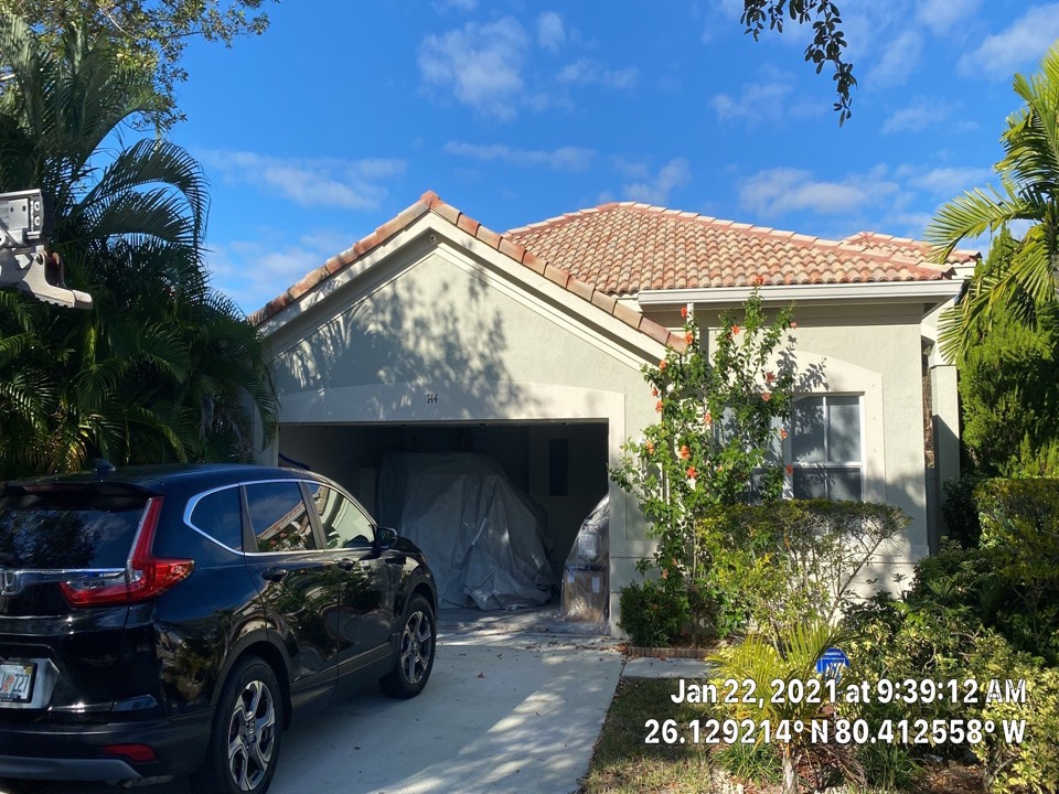 Weston, FL - Eagle Capistrano tile reroof estimate in Weston, FL by Mike Wilde and Earl JohnstonRoofing