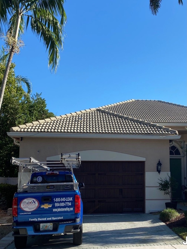 Weston, FL - Eagle Malibu tile reroof estimate in Weston, FL by Mike Wilde and Earl Johnston Roofing