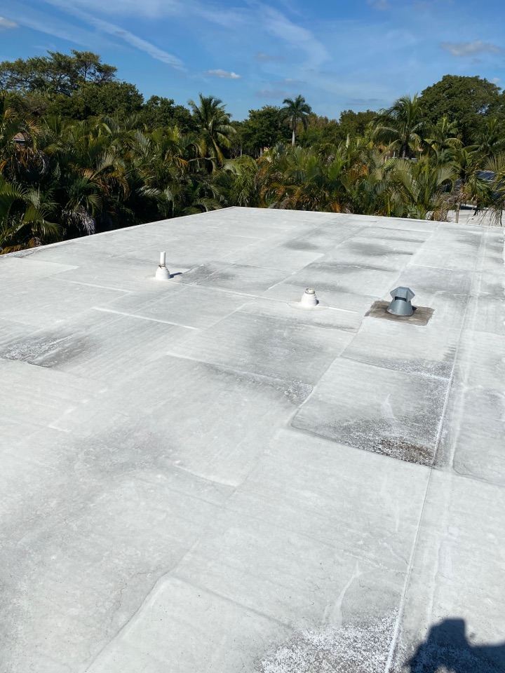 Fort Lauderdale, FL - GAF TPO ever guard 060 roof inspection and maintenance in Fort Lauderdale