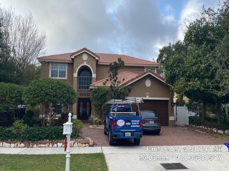 Fort Lauderdale, FL - Eagle Tile Reroof estimate in Pembroke Pines, FL by Mike Wilde and Earl Johnston Roofing