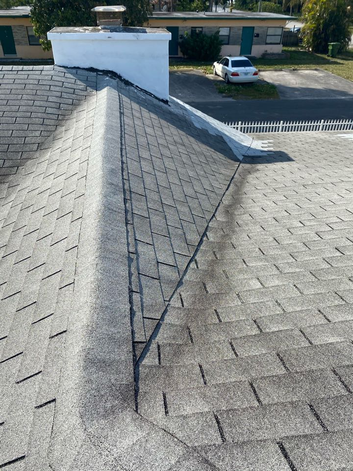Cooper City, FL - Gaf Timberline HDZ shingle reroof estimate in Cooper City, FL by Mike Wilde and Earl Johnston Roofing