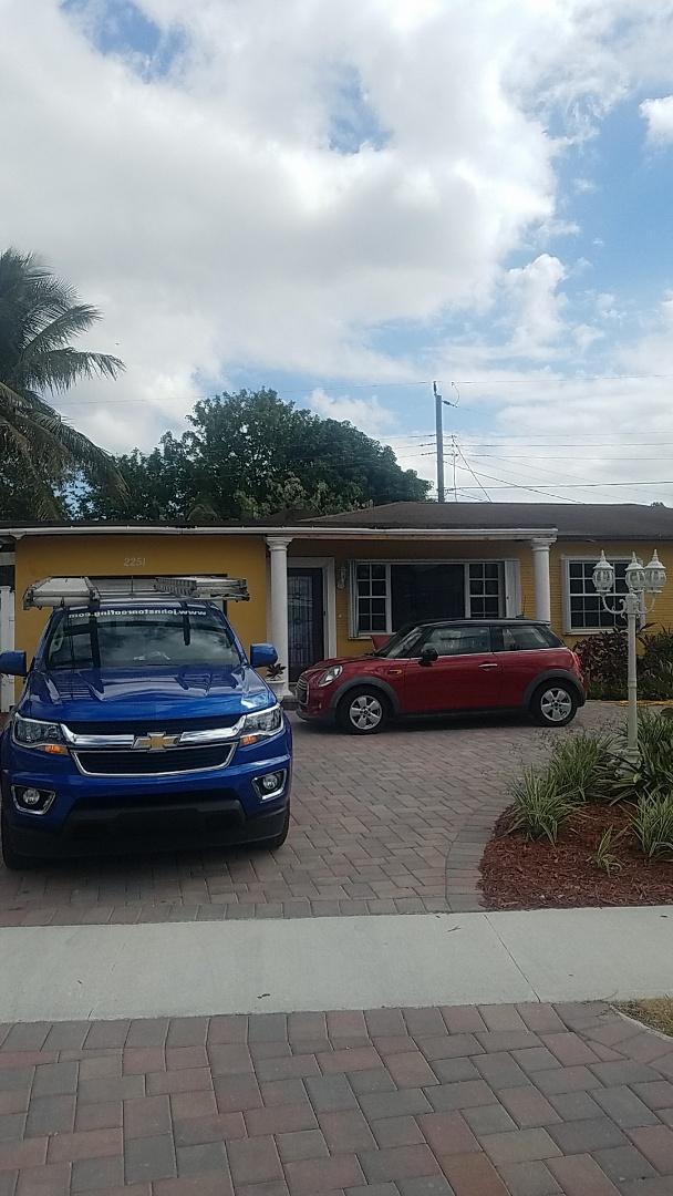 Miramar, FL - Eagle Malibu tiles reroof estimate by Aj from Earl Johnston Roofing Company