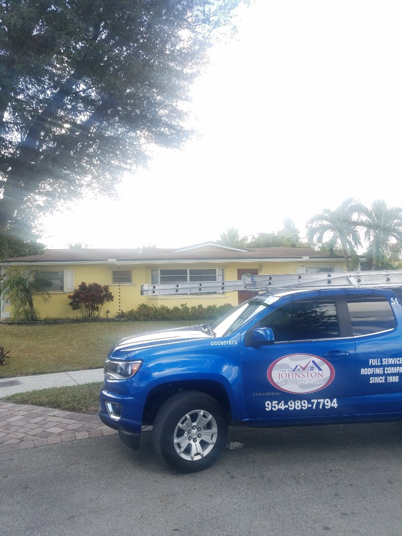 Hialeah, FL - Gaf timberline HDZ shingles roof replacement estimate by Aj from Earl Johnston Roofing Company