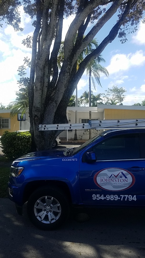 North Miami Beach, FL - Flat roof leak repair estimate by Aj from Earl Johnston Roofing Company