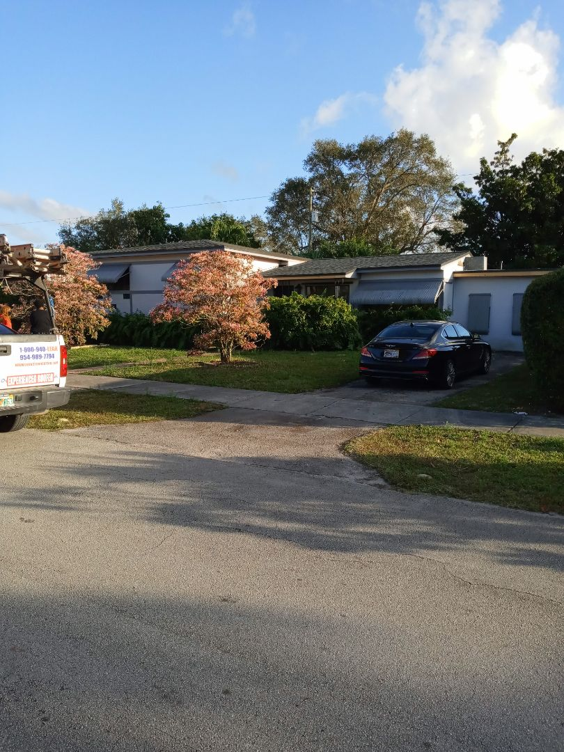 Miami Gardens, FL - Finished gaf timberline shingle and flat roof by earl w Johnston roofing