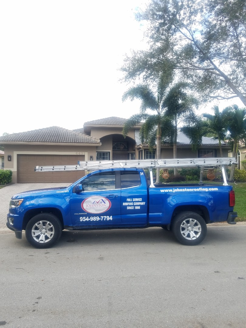 Coral Springs, FL - Boral saxony tiles roof replacement estimate by Aj from Earl Johnston Roofing Company