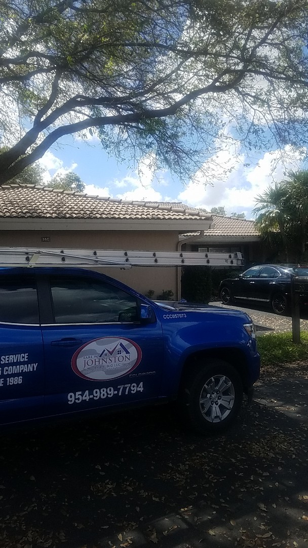 Boral estate tiles reroof estimate by Aj from Earl Johnston Roofing Company