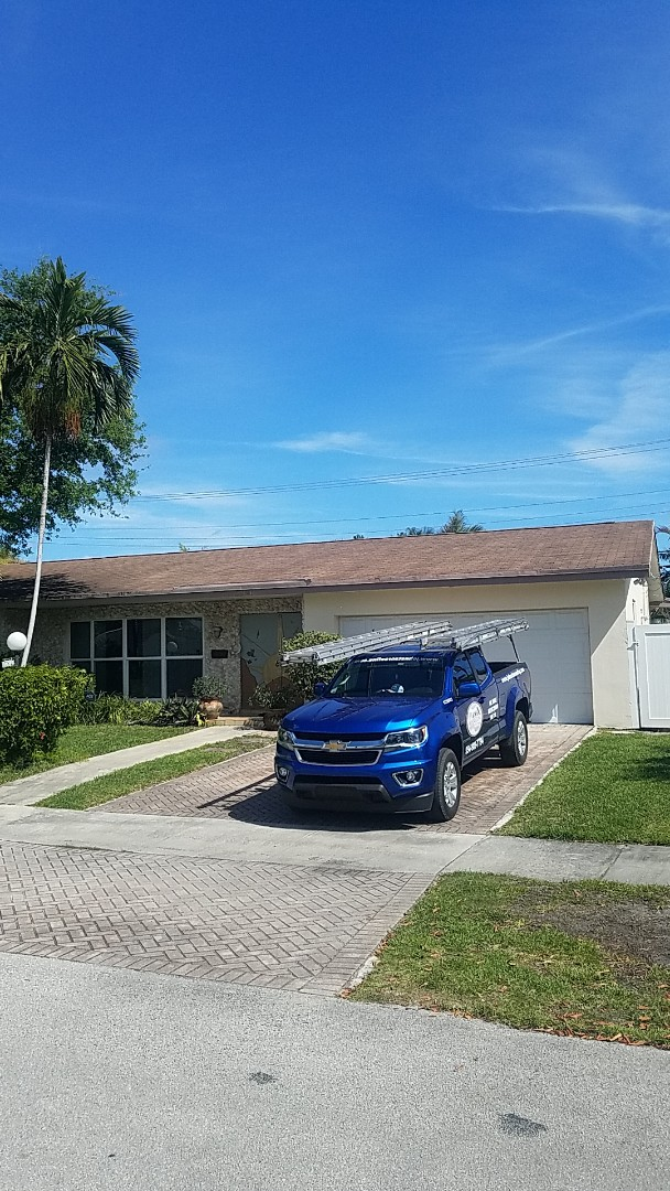 Miami, FL - Gaf timberline HDZ shingles roof replacement estimate by Aj from Earl Johnston Roofing Company