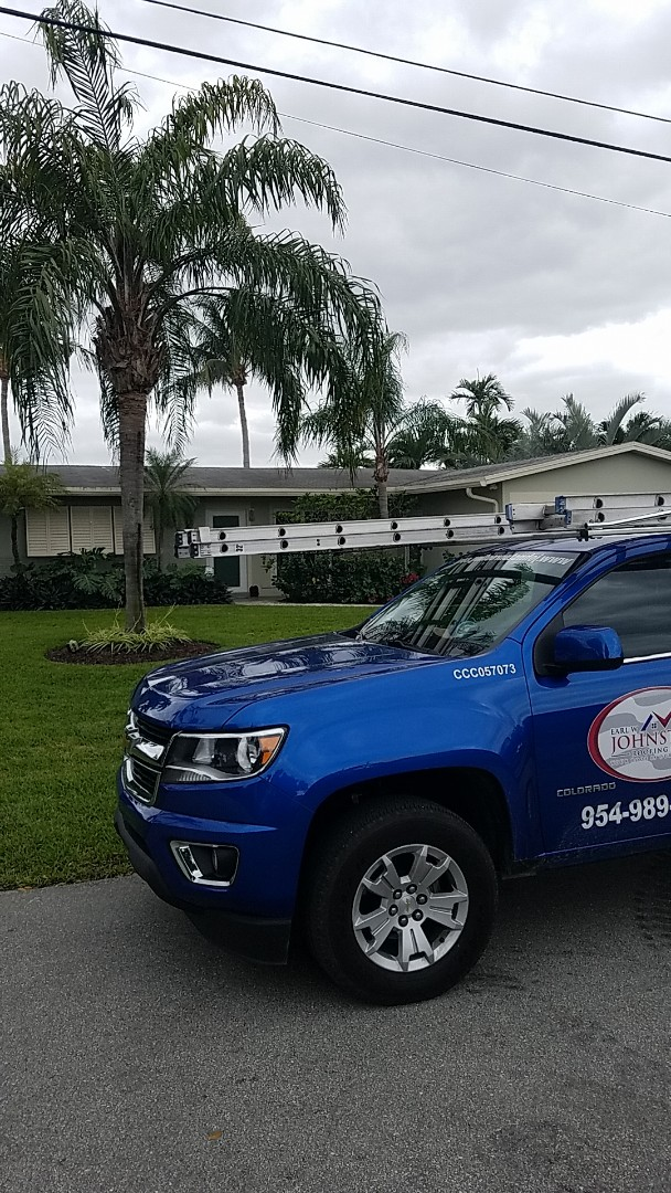 Oakland Park, FL - Gaf timberline HDZ shingles roof replacement estimate by Aj from Earl Johnston Roofing Company