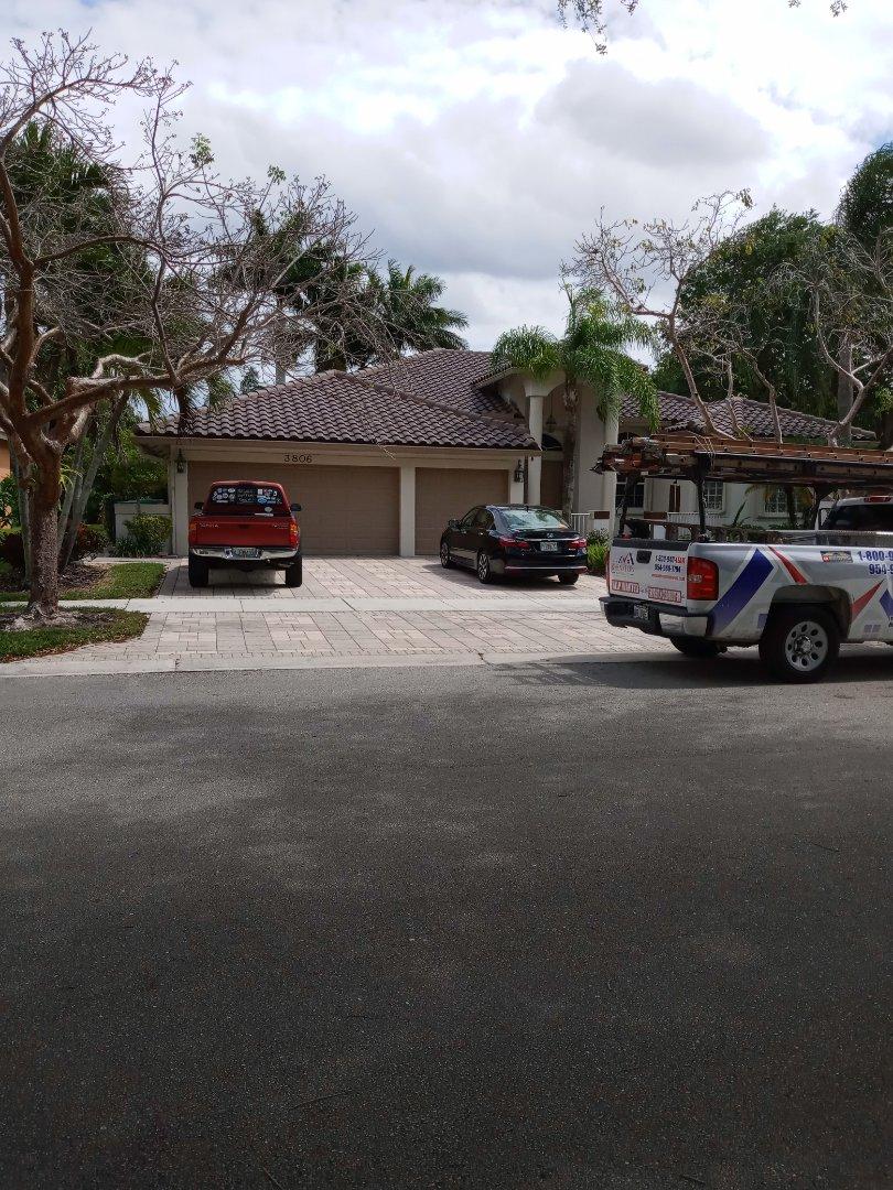 North Miami Beach, FL - Finished eagle capistrano concrete roof tile cocoa range color by earl w Johnston roofing