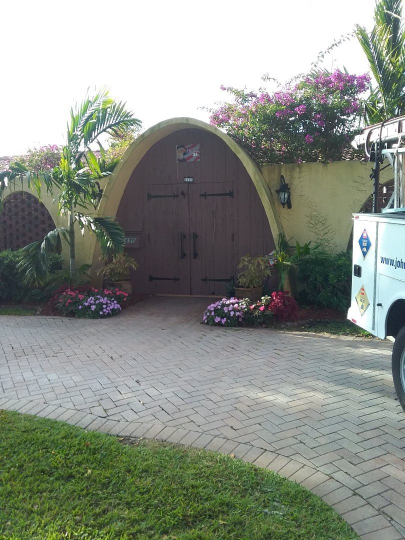 Fort Lauderdale, FL - Repair flat roof by Alexis and Oliver from early w Johnson roofing