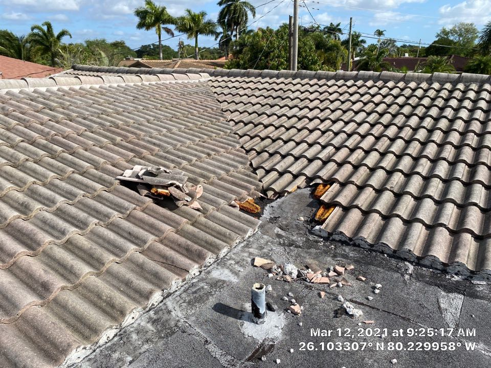 Plantation, FL - Tile roof repair and cleaning estimate in Plantation, FL by Mike Wilde