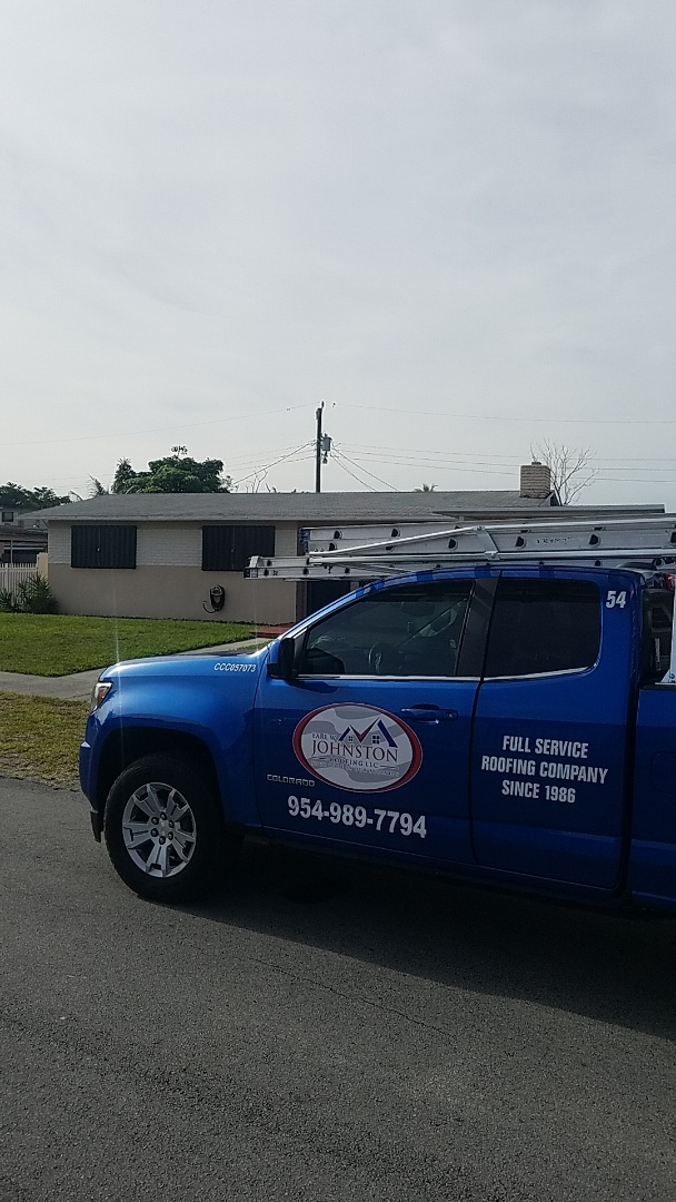 Miami, FL - Shingle roof leak repair estimate by AJ from Earl Johnston Roofing