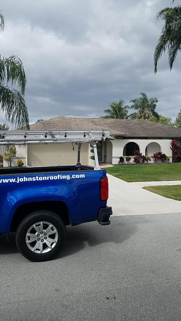Deerfield Beach, FL - Gaf timberline hdz shingles roof replacement estimate by AJ from Earl Johnston Roofing