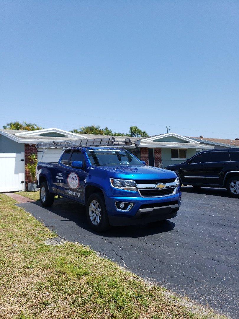 Miramar, FL - Shingle roof leak repair estimate by Aj from Earl Johnston Roofing Company