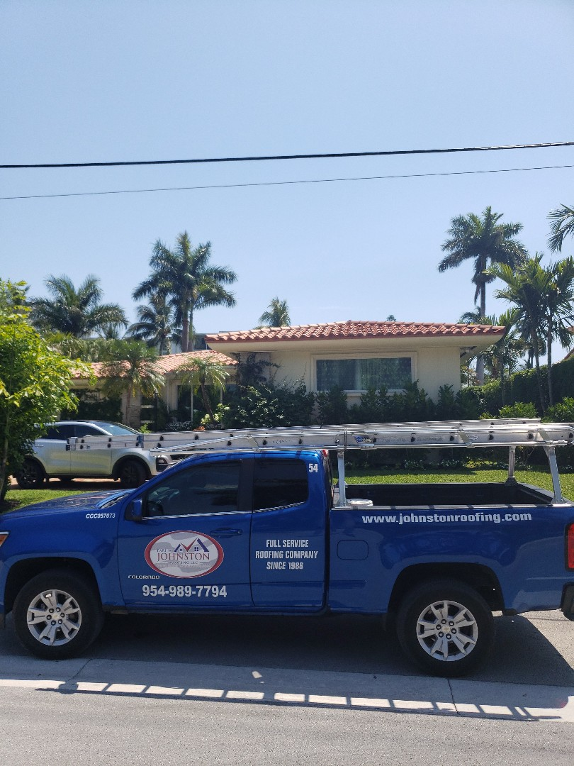 Bay Harbor Islands, FL - Clay tiles roof replacement estimate by AJ from Earl Johnston Roofing Company