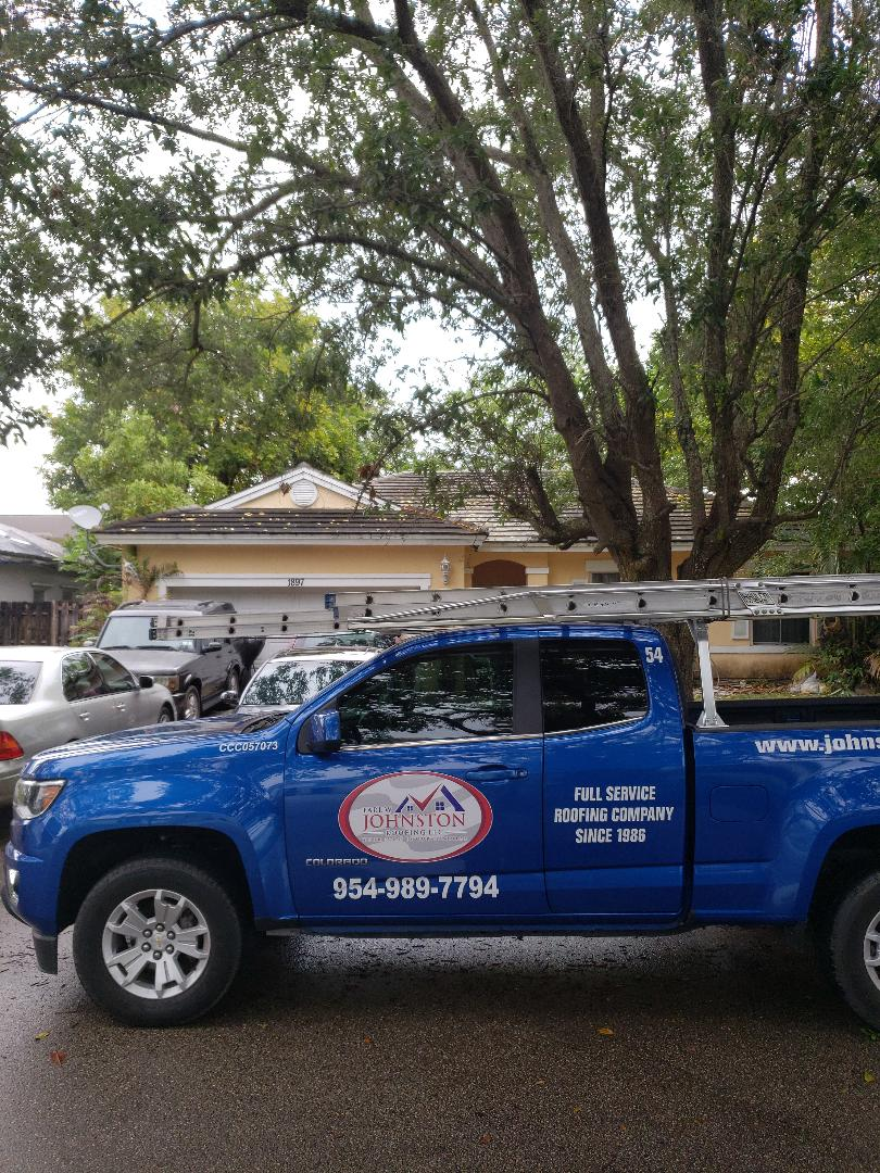 Miramar, FL - Boral tiles roof replacement estimate by AJ from Earl Johnston Roofing Company