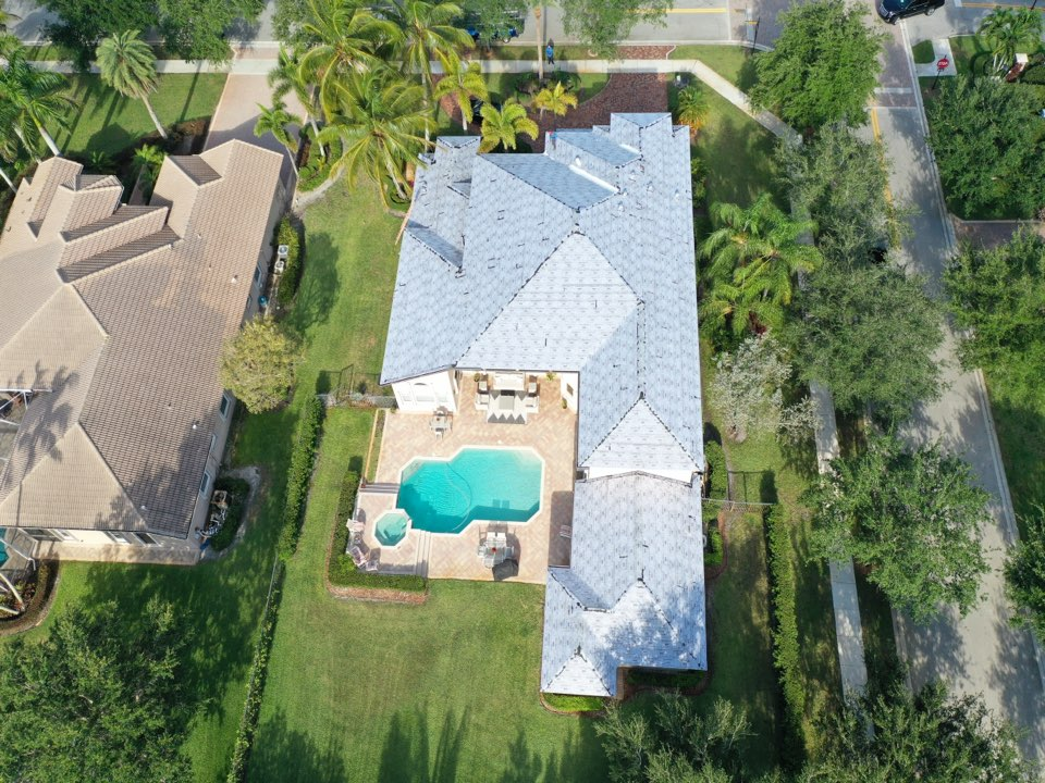 Davie, FL - Tag N Stick Tile reroof in Davie, FL by Mike Wilde and Earl Johnston Roofing