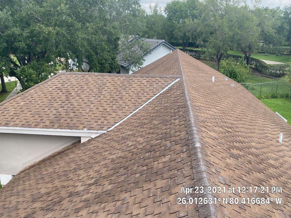 Davie, FL - Timberline HDZ shingle reroof estimate in Davie, FL by Mike Wilde and Earl Johnston Roofing