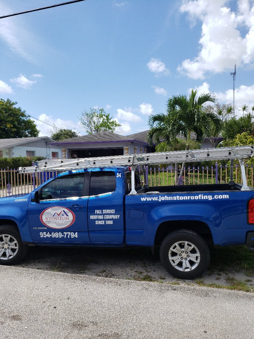 Tile roof replacement estimate by AJ from Earl Johnston Roofing Company