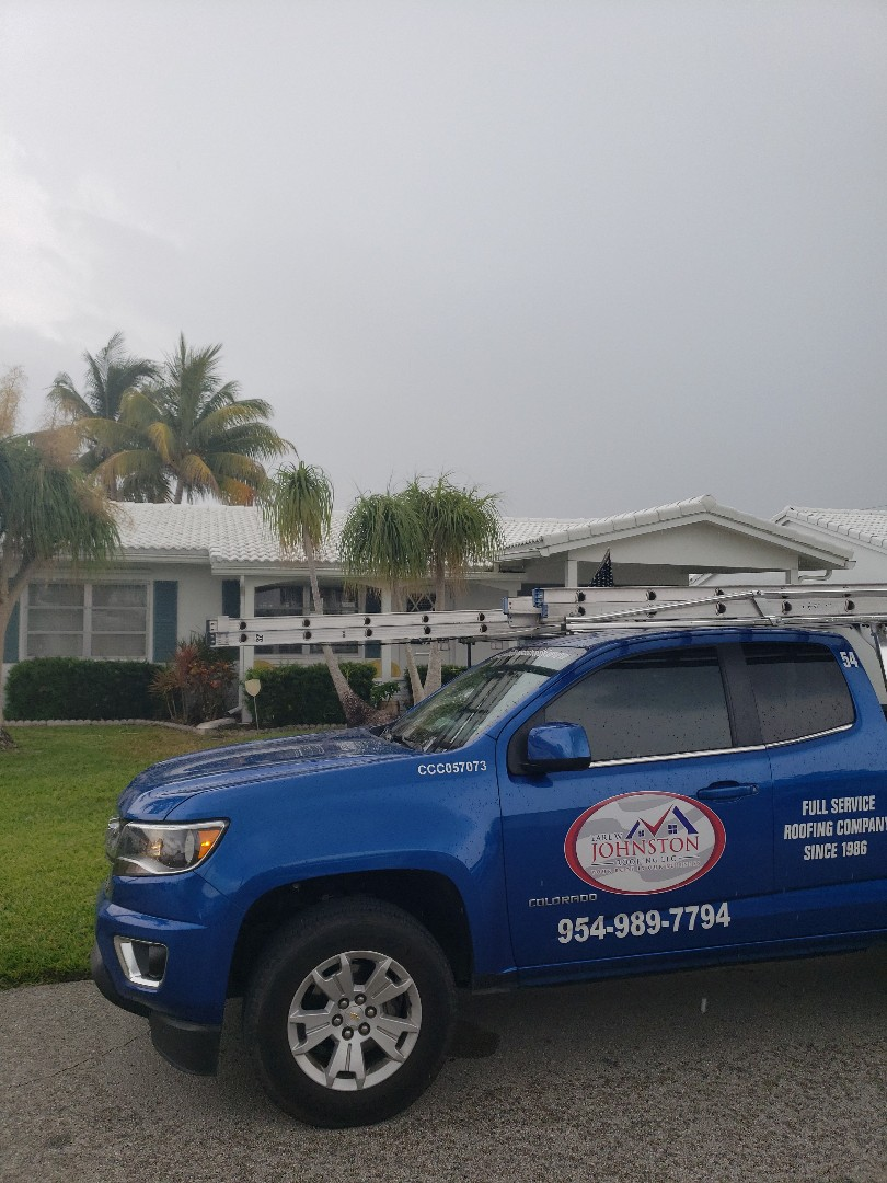 Flat roof repair estimate by AJ from Earl Johnston Roofing Company
