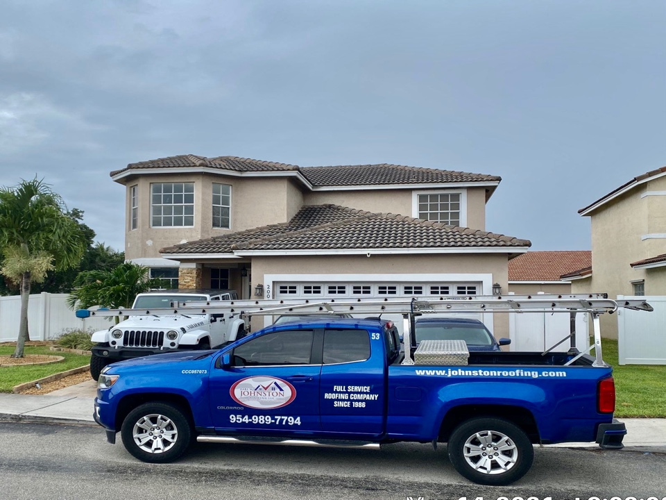 BORAL Estate tile reroof estimate in Pembroke Pines, FL by Mike Wilde with Earl Johnston Roofing